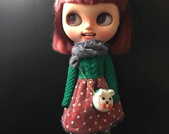 Dress set for Blythe(3 items)