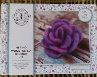 Kirsty Allsopp Felted Merino Wool Brooch Kit