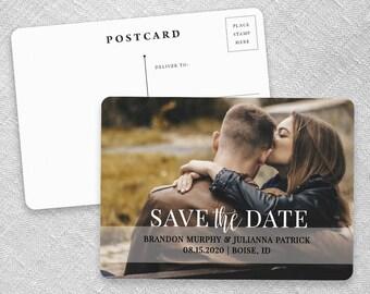 Lasting Love - Wedding Postcard - Save-the-Date