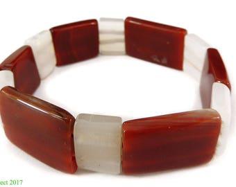 Carnelian Stone Bracelet Pakistan Small 117009