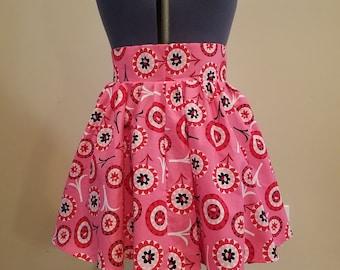 hand made Pink Retro Style Skirt