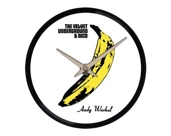 The Velvet Underground - Vinyl Wall Clock 7''