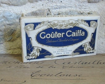 French candy box, chocolate box Gouter Caiffa