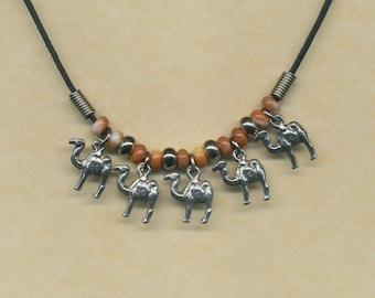 Camel train charm necklace  CCS63