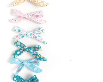 Summer Baby Bow Headband Bundle, Baby Girl Gift Set, Baby Bow Gift, Bow Headband Bundle, Baby Girl Gift