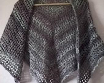 lavender field shawl