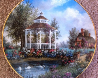 Garden Gazebo by Dennis Patrick Lewan from the Country Garden Cottages Collection