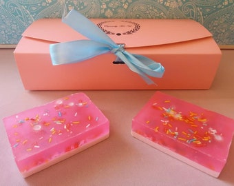 Cotton Candy Soap Gift Set