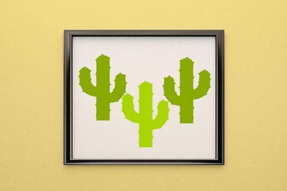 Cactus wall art, Svg, cactus, Cactus shirt, cactus svg, Cactus print ...