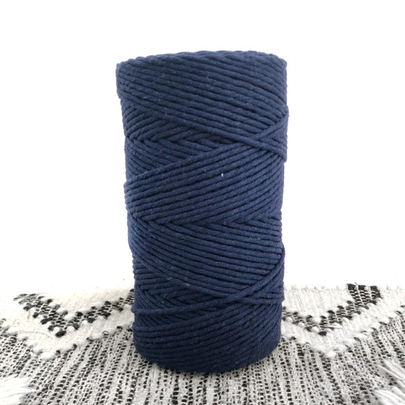 NAVY BLUE Single Twist Cord 1kg