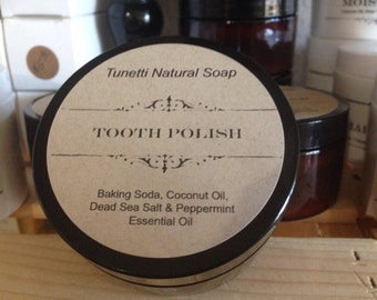 Natural Organic Tooth Polish
