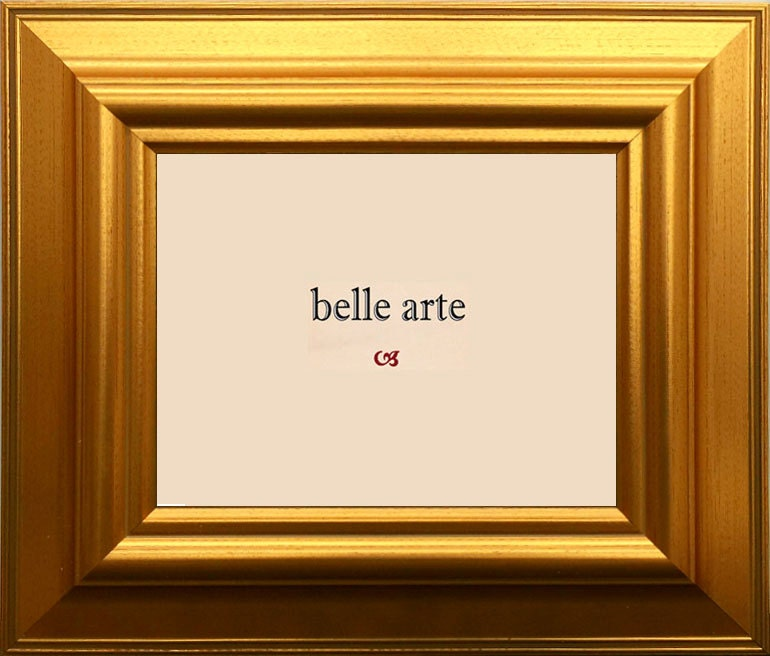 Classic Large Gold Picture Frame Sizes 4x6 5x7 8x10 11x14