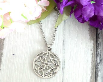 Fashion Necklace, Gift For Women, Celtic Jewelry, Celtic Knot Necklace, Celtic Pendants, Best Gift, Special Gifts, Girlfriend Gifts