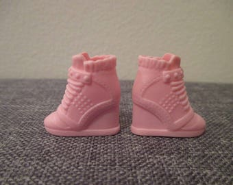 Barbie®accessory barbie pink running shoe high cuts fashionista add ons