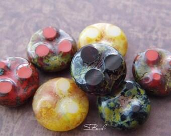 Artisan Rounds,Czech Beads, Beads