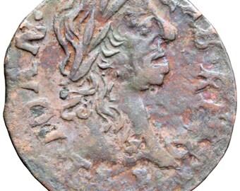 1664 Szeląg Solidus Shilling 1/3 Grosz Polish Lithuanian Commonwealth John II Casimir Vasa Coin