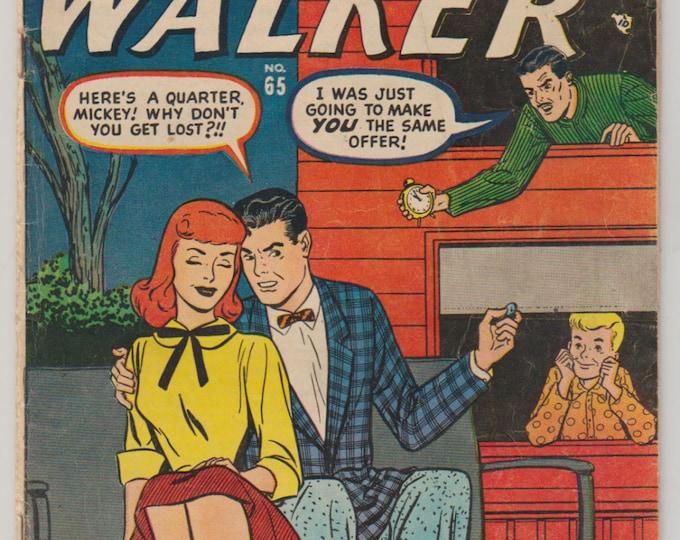 Patsy Walker, Vol 1, 65 Golden Age Romance Comic Book. VG- (3.5). July 1956. Atlas Comics (Marvel Comics).