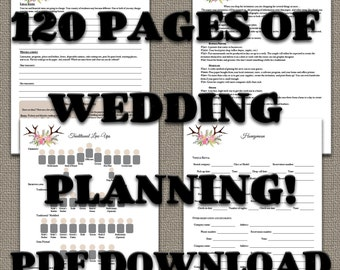Your ULTIMATE Wedding Planner! PDF Download - Instant download