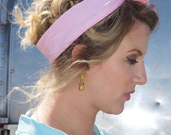 Pink Wire Headband, Hair Band, Headband, Wire Headband, Headband Wired, Vintage Headband, Pink Headband, Baby Pink Headband