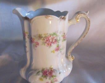Vintage Z S & Co Bavaria Pink Rose Creamer