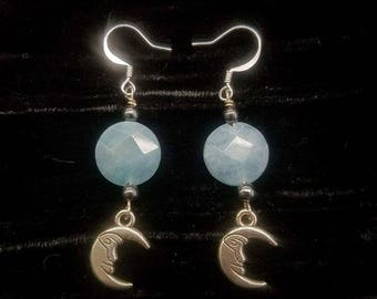 Angelite Hemaitie earrings