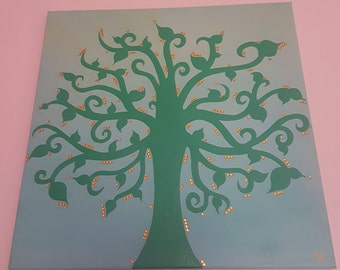 Tree Of Life - Painting - Canvas - Wall Art - Home Decor