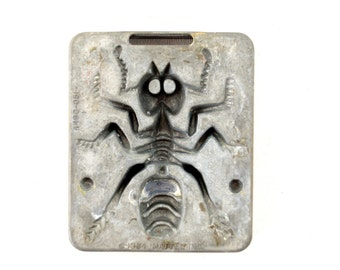 Vintage Giant Creepy Crawlers Ant Mold for Mattel Thingmaker #4490-051 (c.1964) I - Collectible Toy, Insect Oddity, Unique Curio Decor