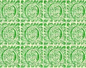 Antique Flower Wood Cut Sheet. 1690s. 14 x 18. Digital Paper Download. Scrapbooking Supplies. Instant Download. Pattern. High Resolution.