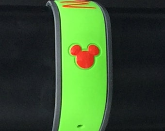 Mickey or Minnie Mouse Head Decal for Disney Magic Band/ Magic Band 2.0/ New Magic Bands/ Glossy or Glitter Magic Band
