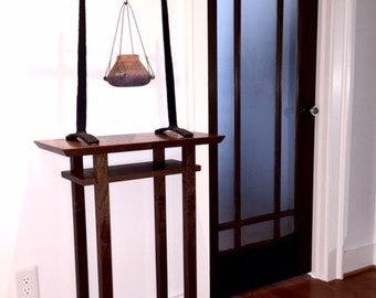 tall entryway table. Tall Narrow Table For Entryway - Small Entry Decor Minimalist Style Thin Wood A