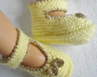 chaussons petite fille taille naissance