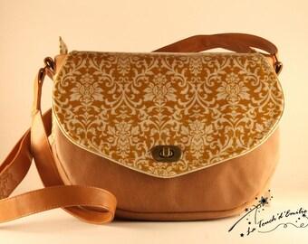 Baroque Ochre yellow Messenger bag