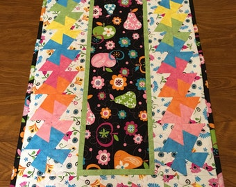 Table Runner, Table Topper, Candle Mat, Handmade, Quilted, Quilt, Pieced Quilt
