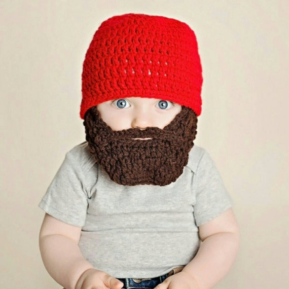 Lumberjack First Birthday Nursery Baby Shower, Baby's First Christmas, Buffalo Plaid, Wild One Boy, Baby Bear, Baby Beard Beanie Hat
