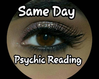 Same Day Psychic Two question Reading - highly  experienced Psychic Medium