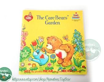 Care Bear Book: The Care Bears' Garden 1980s