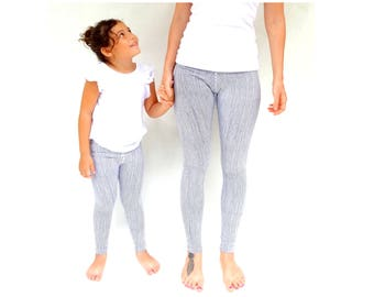 Striped leggings, mommy and me leggings, mommy and me outfits, mother daughter matching, mom and me leggings| yoga leggings| matching outfit