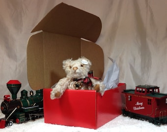 """12"""" Steiff Schulte Mohair Collectible Cub-Teddy Bear: Loving, Comforting-Perfect Gift for Adults of All Ages, Gift-Ready Box/Ready to Ship!"""