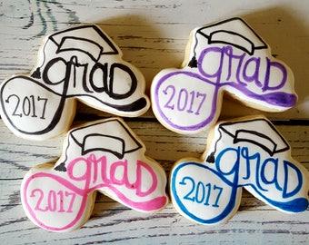 12 Grad Sugar Cookies