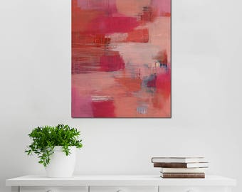 Urban Nest // Artist Charlie Albright // Blog Moments by Charlie // Abstract Art in Acrylic Paint