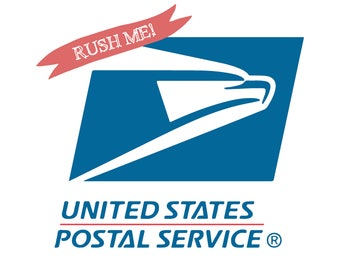 RUSH MY ORDER - Expedited Shipping