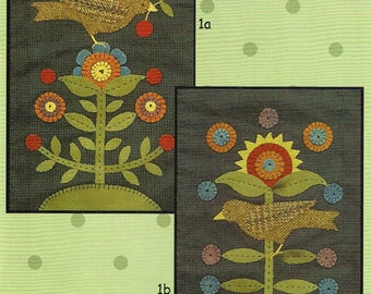 Penny Garden I Folk Art Penny Rugs by All Through the Night - Patterns