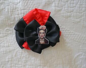Olivia Paige -  Frida Kahlo mexico Bow hair clip Flower