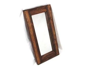 Rustic Mirror - Reclaimed Wood - Country Decor