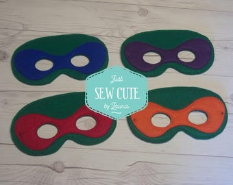 Ninja Turtle masks