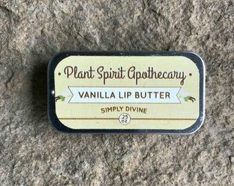 Vanilla Lip Butter | .25 oz. slider tin | Lip Balm