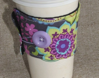 Paisely Spree Coffee Sleeve Cup Cozy