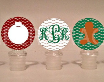 Christmas Wine Stoppers, Christmas Gifts, Christmas Gift Hostess, Christmas Gift Ideas, Holiday Wine Stoppers