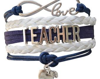 Teacher Gift - Teacher Bracelet – Teach Gift - Teacher Jewelry- Graduation- Teacher Appreciation- Perfect Gift for Teachers