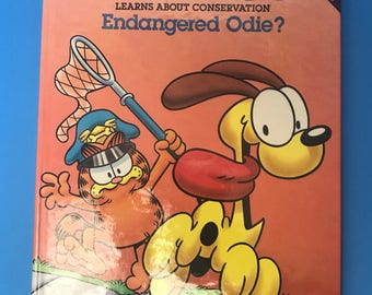 Garfield Learns About Conservation Endangered Odie?
